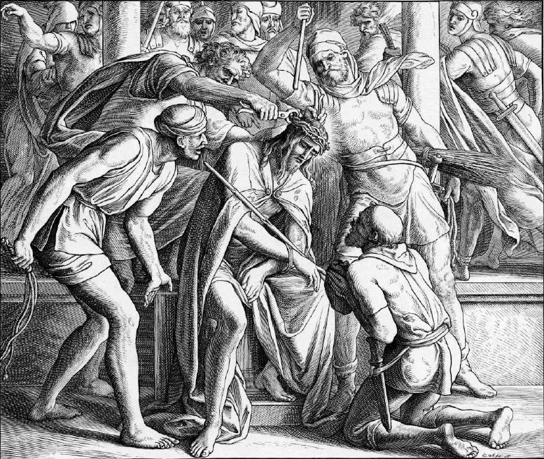 иллюстрация к библии ЕВАНГЕЛИЕ ОТ МАРКА глава 15
