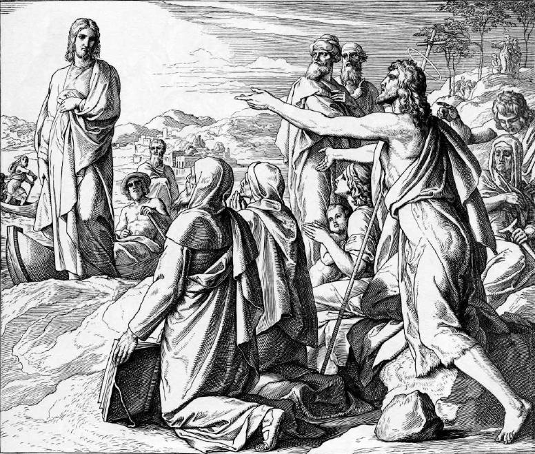 иллюстрация к библии ЕВАГЕЛИЕ ОТ ИОАННА глава 1