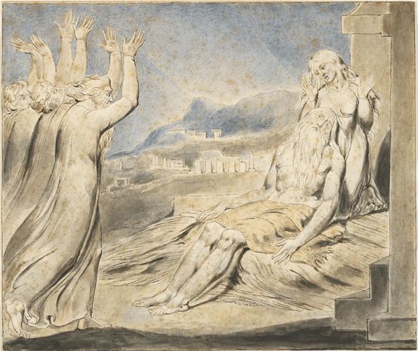 иллюстрация к библии КНИГА ИОВА глава 3