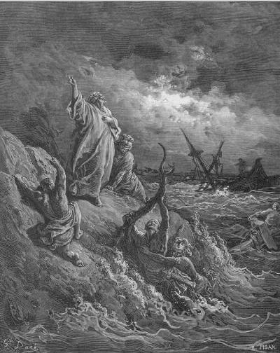 иллюстрация к библии ДЕЯНИЕ СВЯТЫХ АПОСТОЛОВ глава 27