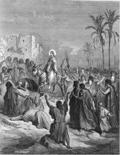 иллюстрация к библии ЕВАНГЕЛИЕ ОТ МАТФЕЯ глава 21
