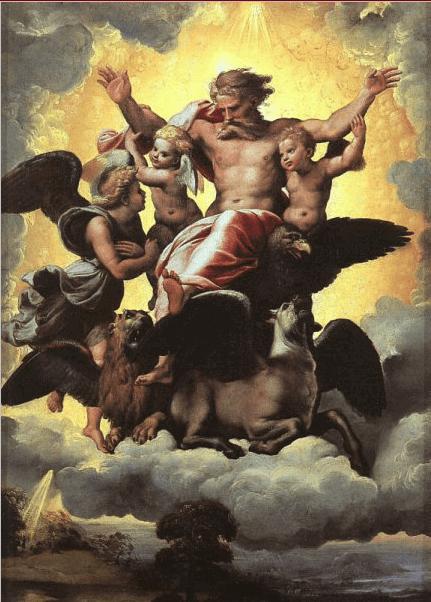 иллюстрация к библии КНИГА ПРОРОКА ИЕЗЕКИИЛЯ глава 1