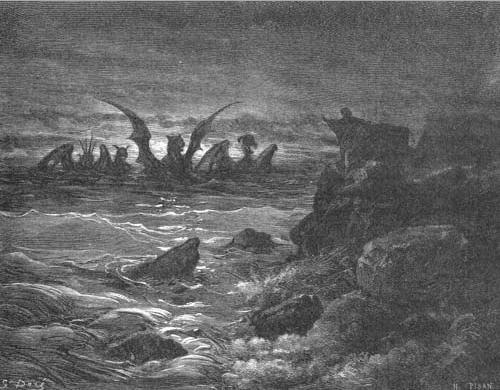 иллюстрация к библии КНИГА ПРОРОКА ДАНИИЛА глава 7