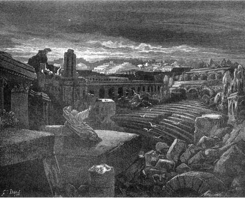 иллюстрация к библии КНИГА ПРОРОКА ИСАИИ глава 13