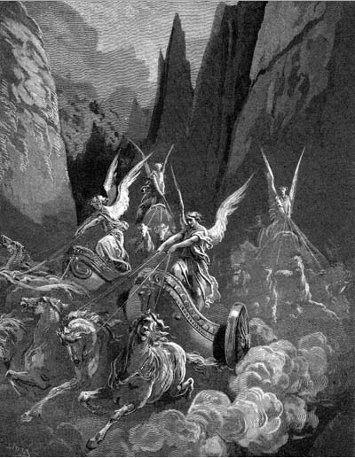 иллюстрация к библии КНИГА ПРОРОКА ЗАХАРИИ глава 6