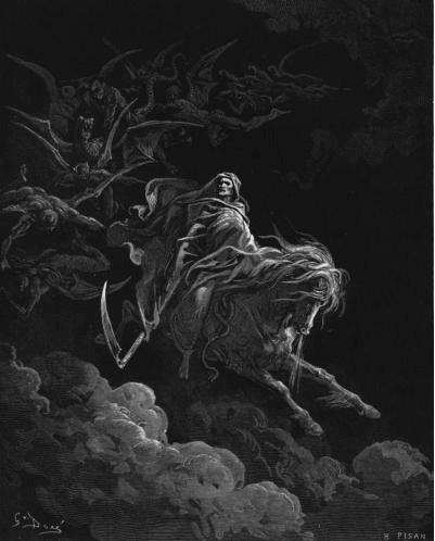 иллюстрация к библии ОТКРОВЕНИЕ ИОАННА БОГОСЛОВА глава 6