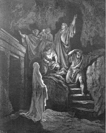 иллюстрация к библии ЕВАГЕЛИЕ ОТ ИОАННА глава 11