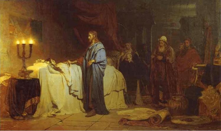 иллюстрация к библии ЕВАНГЕЛИЕ ОТ ЛУКИ глава 8