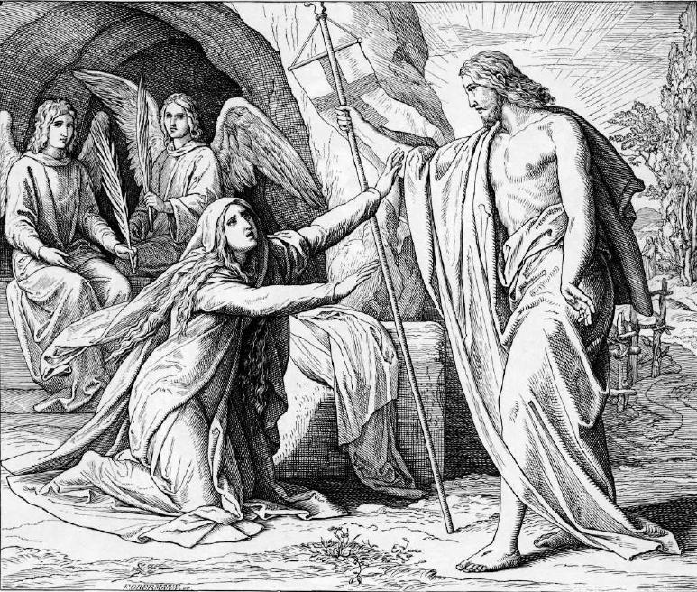 иллюстрация к библии ЕВАГЕЛИЕ ОТ ИОАННА глава 20