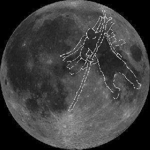 Каин на луне