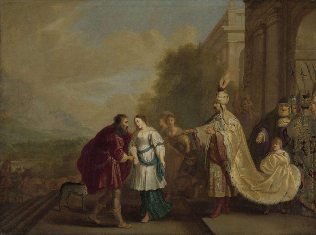 Фараон отдает Сару Аврааму