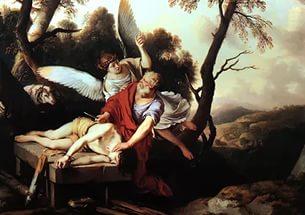 жертвоприношение исаака библейский сюжет