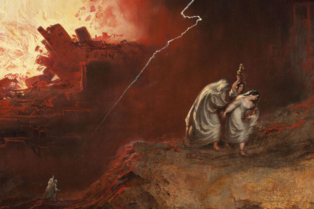 Джон Мартин. Разрушение Содома и Гоморры
