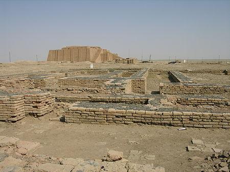 руины Ур халдейский