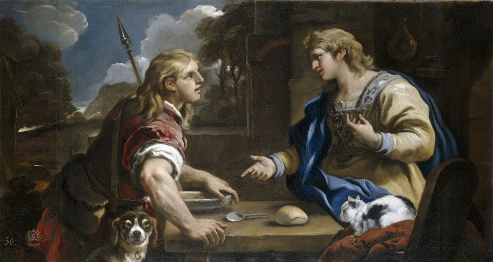 дети Исаака и Ревекки