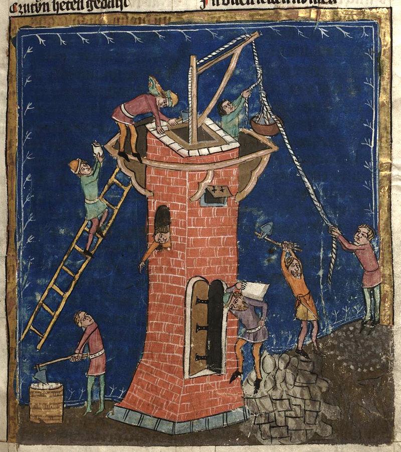 Вавилонская башня икона