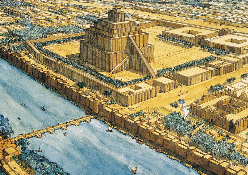 зиккурат Этеменанки в Вавилоне