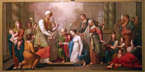 Обручение Марии с Иосифом.