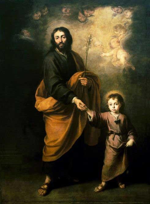 Иосиф Обручник с Иисусом