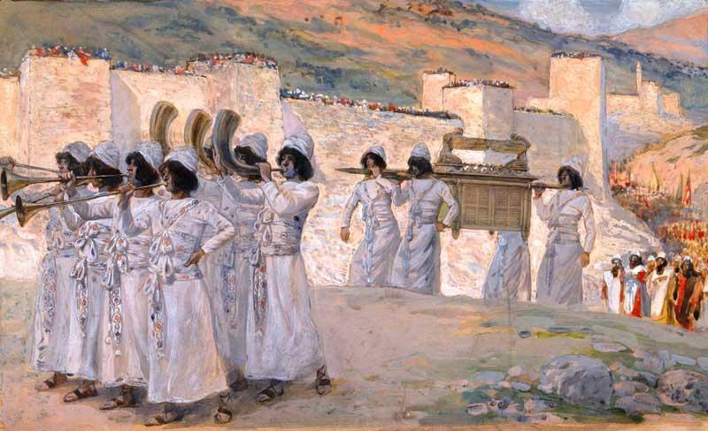 Иерихонские трубы и ковчег завета