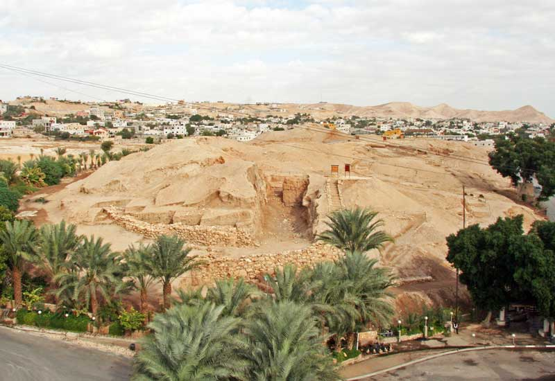 раскопки древнего Иерихона