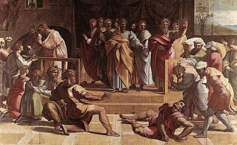 Смерть Аниния и Сапфиры