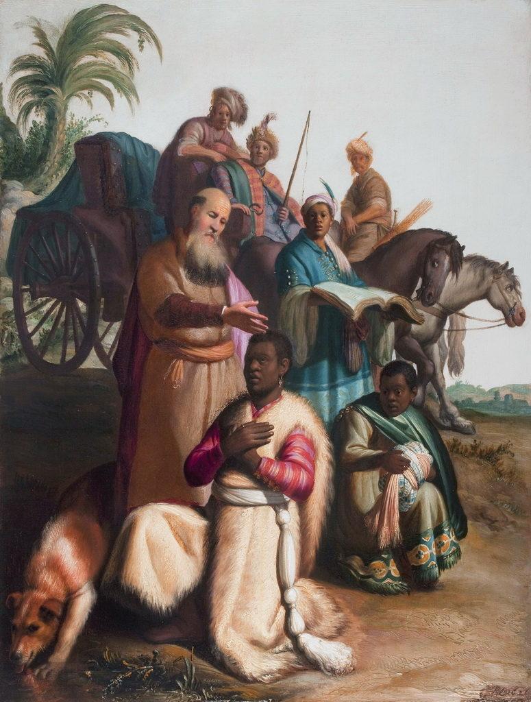 крещение евнуха