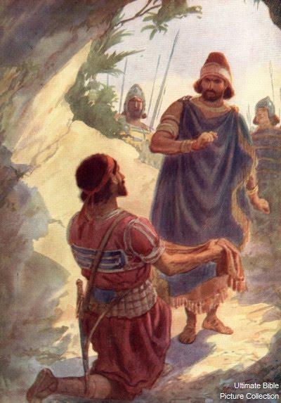 Давид и Саул