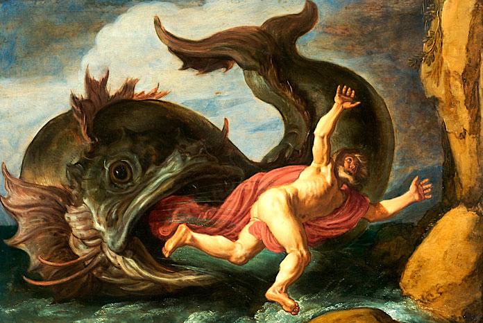 иона во чреве кита