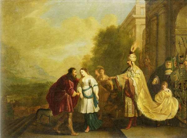 Фараон отдает Сару обратно Аврааму