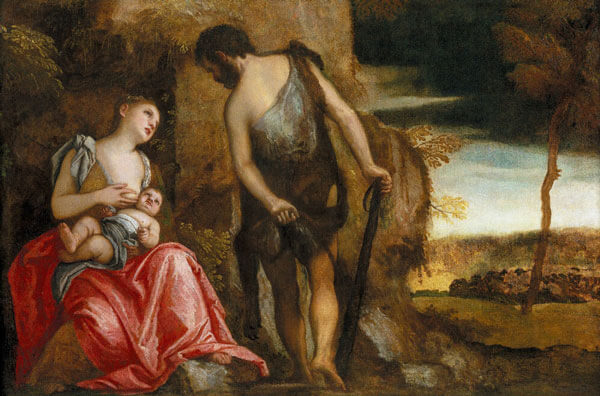Каин и его семья. Художник Паоло Веронезе 1585 г.