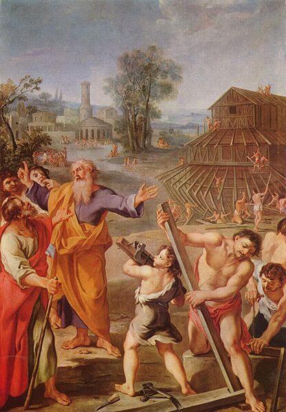Ной. Французский мастер 1675 г.
