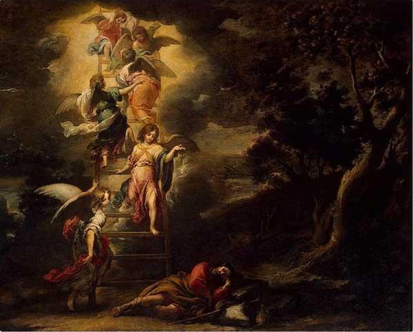 Сон Иакова. Художник Бартоломе Эстебан Мурильо, 1665 г.