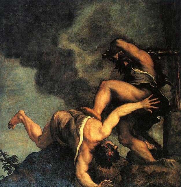 Каин и Авель. Тициан, 1542-1544 гг.