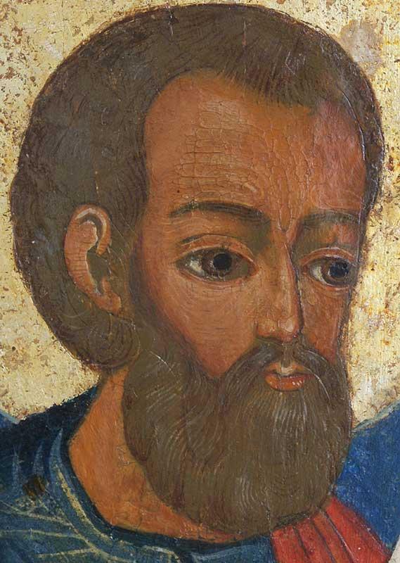 Святой Праотец Сиф. Икона. Сердина XVIIIв. (Вологодский север)