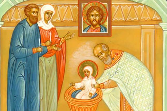 крещение матроны московской