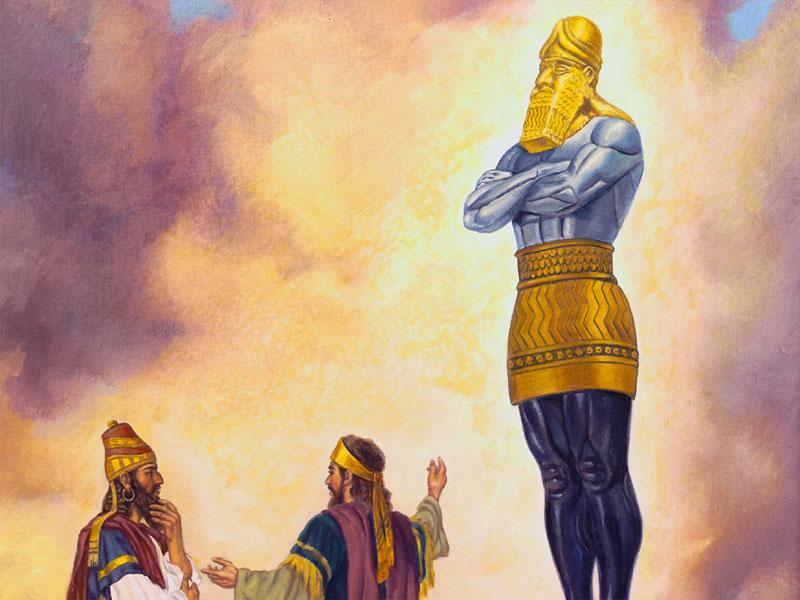 пророк даниил - толкование сна навухудоносора о колосе на глиняных ногах