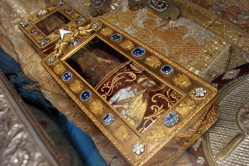 Десница Иоанна крестителя